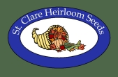 St. Clare Heirloom Seeds - Heirloom Open Pollinated Vegetable Garden Seeds.