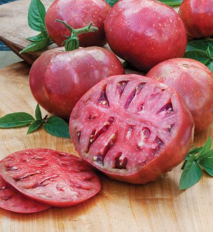 Tomato, Pink and Purple - Cherokee Purple - St. Clare Heirloom Seeds