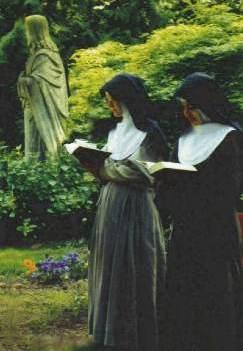 Poor Clares Praying